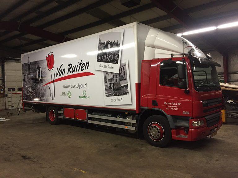 vrachtwagenbelettering fullcolour groot formaat print