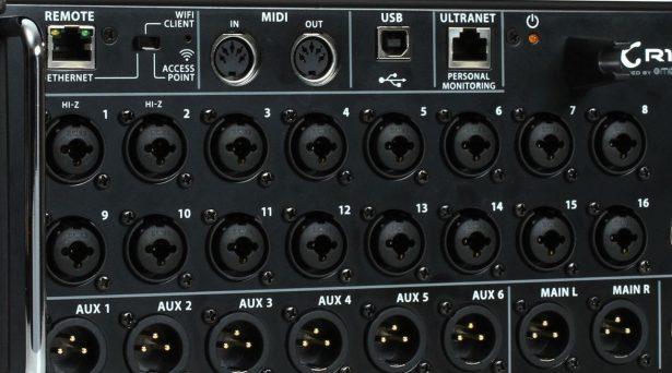 Scen mixer
