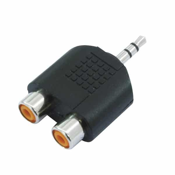 Stereo RCA adapter