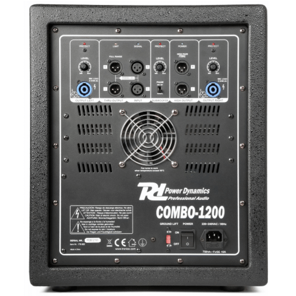 PD 1200 Combo ljudpaket