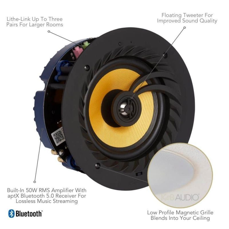 Lithe Audio bluetooth 5.0 takhogtalare