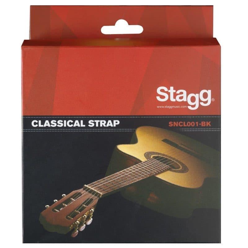 Axelband klassisk gitarr