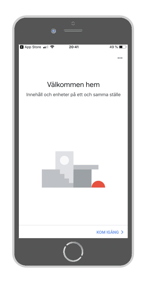 Google Home instruktion steg 2
