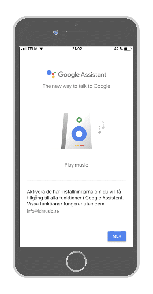 Google Home - Google Assistenten