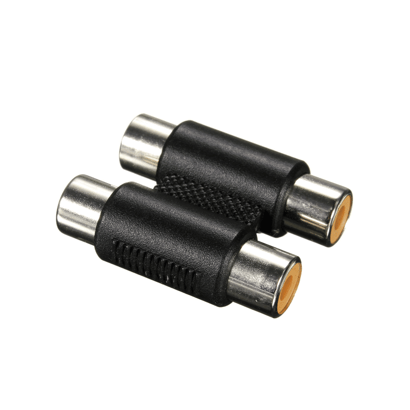 Dubbel RCA adapter - stereo