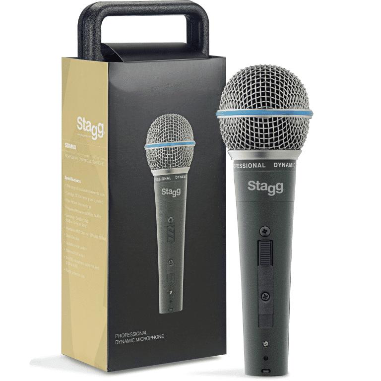 STAGG SDM60 dynamisk sångmikrofon