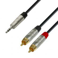 Stereo tele till RCA 3m