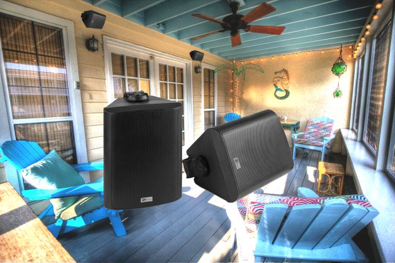 Aktiva utomhushögtalare