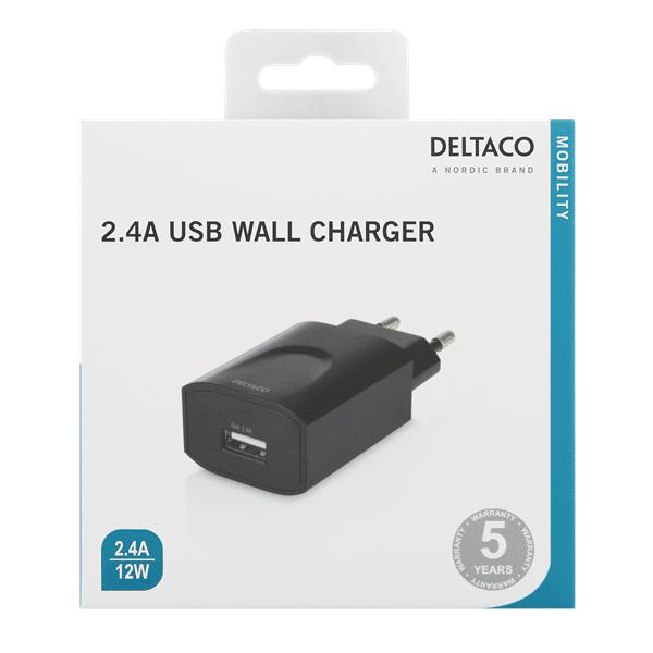 USB laddare till surfplatta eller mobiltelefon