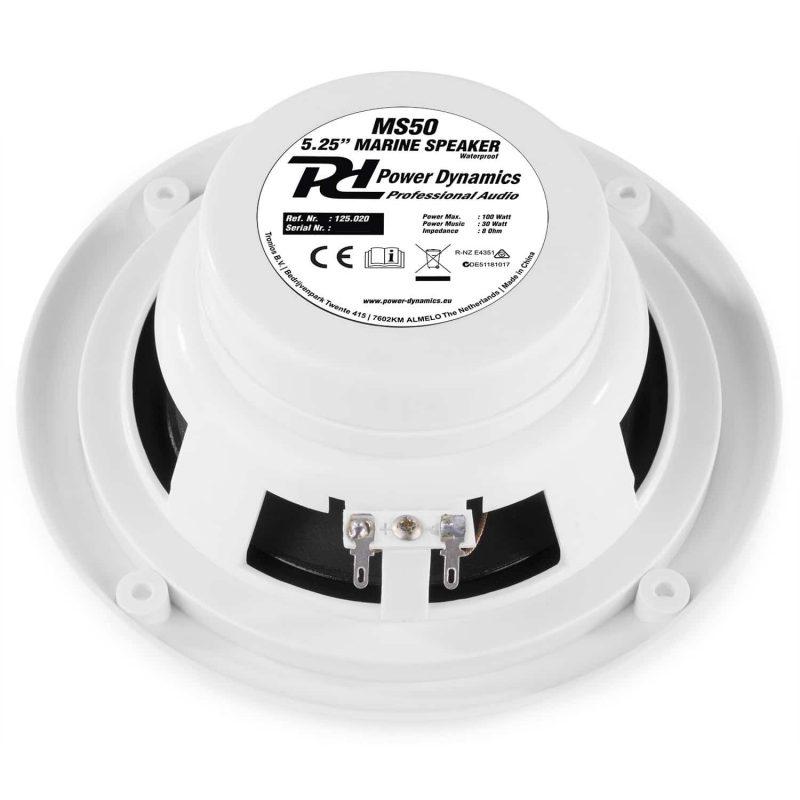 Power Dynamics BT10SET Bluetooth förstärkare och marinhögtalare