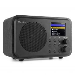 Venice WiFi Internet Radio Bluetooth Svart