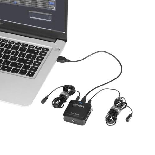 Inspelningsmikrofoner iOS, Android, PC