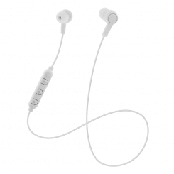STREETZ HL-597 Bluetooth hörlurar vit