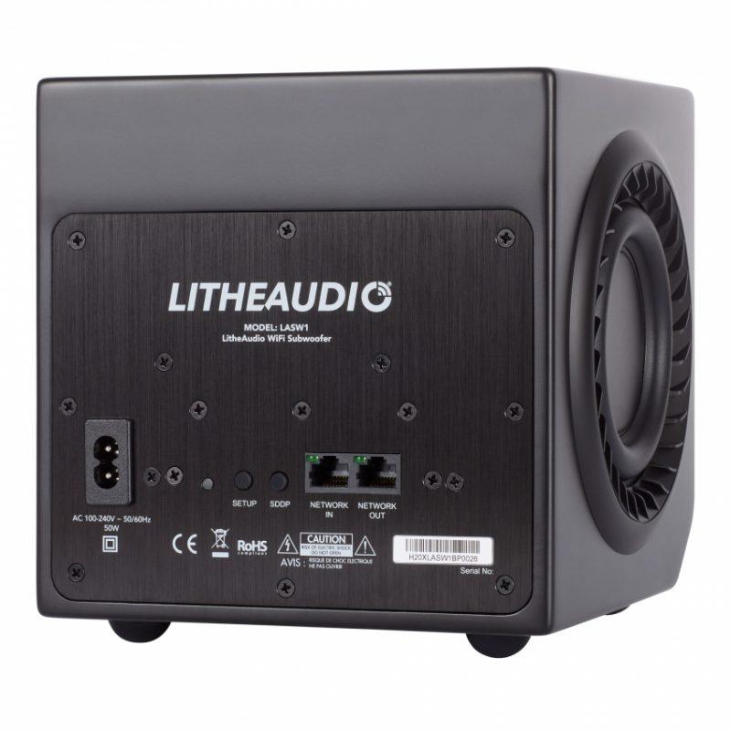LITHE AUDIO Aktiv bashögtalare wifi airplay2 och googlecast