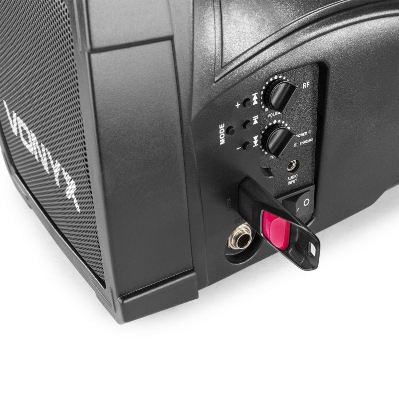 ST014 Gude högtalare med trådlös mikrofon