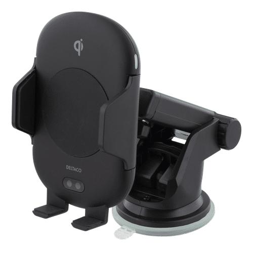DELTACO trådlös billaddare med IR sensor