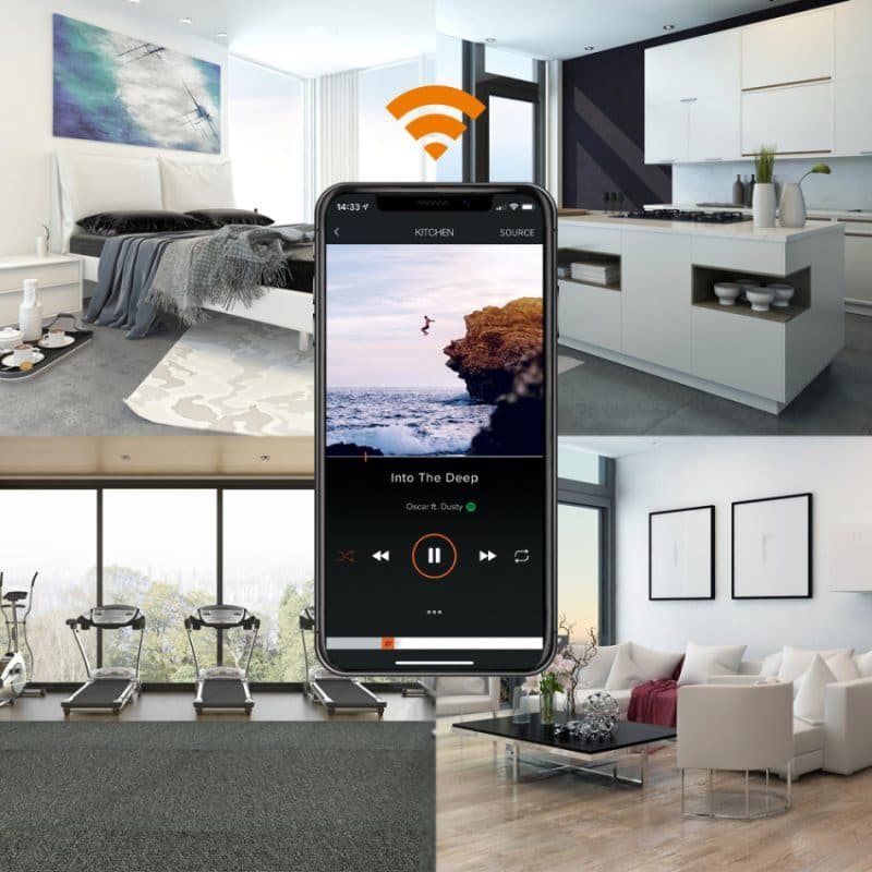 Lithe Audio Pro takhögtalare