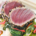 Kortgebakken tonijn met Oosterse invloeden