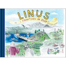 Linus i framtiden år 2039. Omslagsbild.