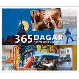 365 dagar i Östersunds kommun. Omslagsbild.