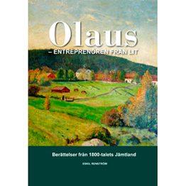 Olaus - entreprenören från Lit. Omslagsbild.