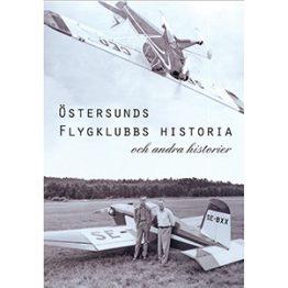 Östersunds Flygklubbs historia. Omslagsbild.