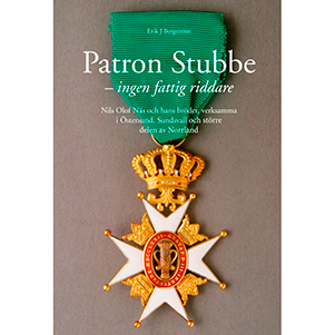 Patron Stubbe - ingen fattig riddare. Omslagsbild.
