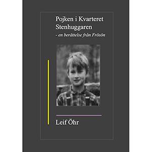 Pojken i kvarteret Stenhuggaren – en berättelse från Frösön. Omslagsbild.