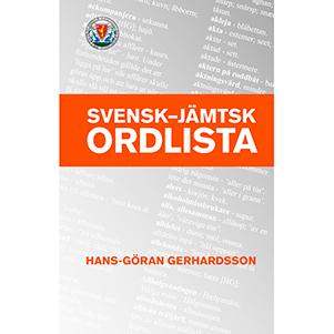 Svensk-jämtsk ordlista. Omslagsbild.
