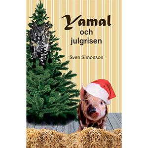 Yamal och julgrisen. Bokomslag.