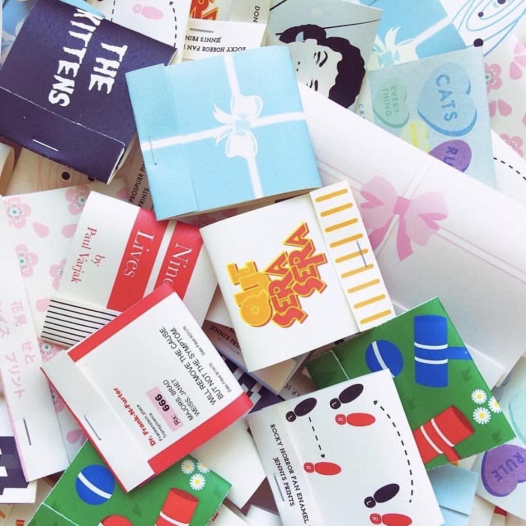 Jenni's Prints - Illustration - Pin packaging