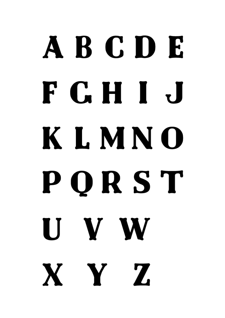 Jenni's Prints - Graphic Design - DND font