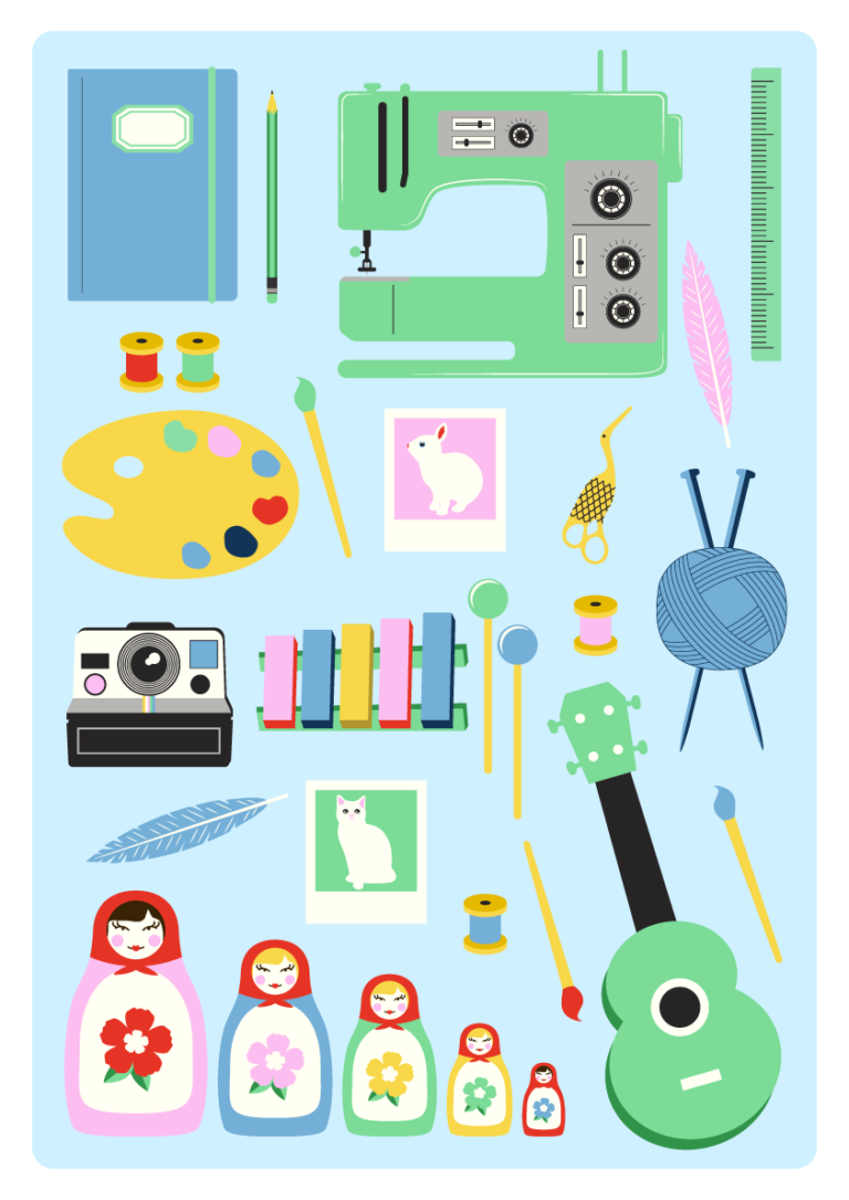 Jenni's Prints - Scandi Creative - Illustration