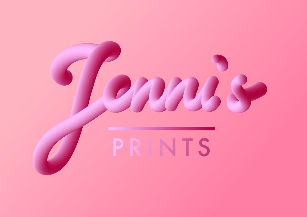 Jennis Prints Logo 3d