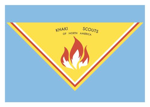 Jenni's Prints - Moonrise Kingdom - Scout scarf - Illustration