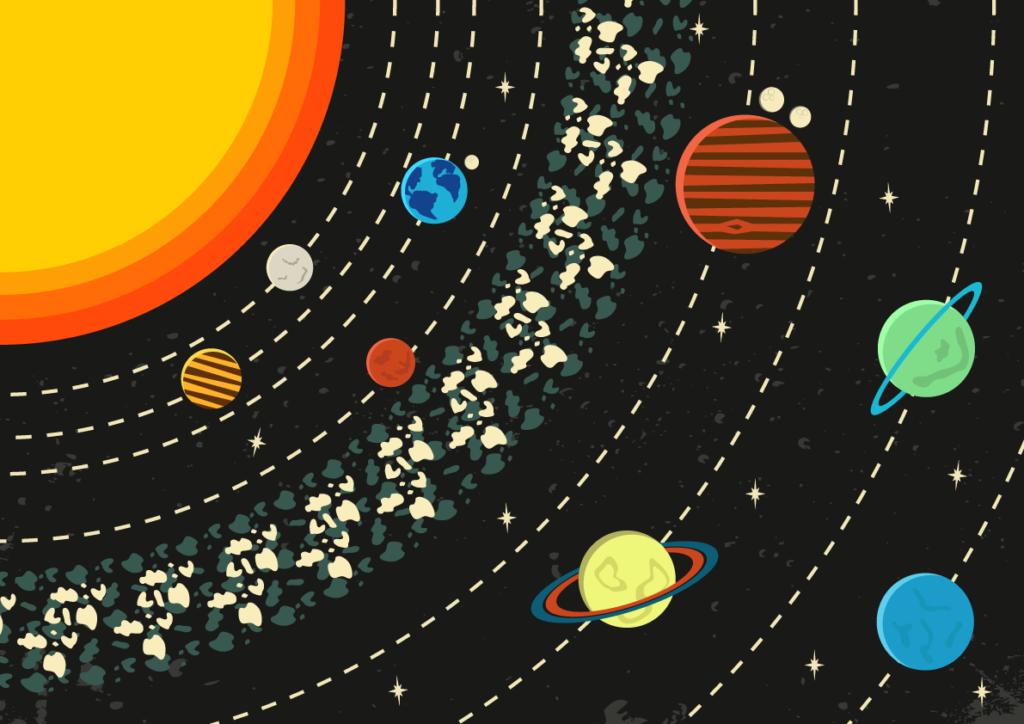 Jenni's Prints - Scandi Space - Illustration