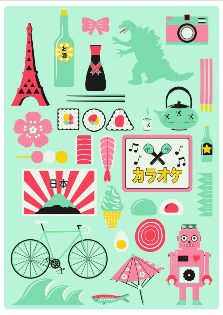 Jenni's Prints - Tokyo - Illustration