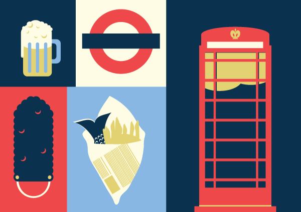 Jenni's Prints - London - Illustration