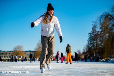 Schaatsen   zaterdag 13 februari 2021
