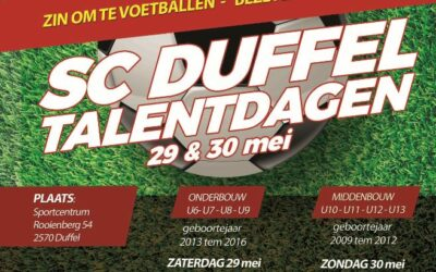 SC Duffel Talentdagen