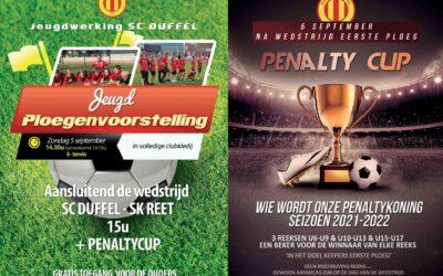 Jeugd Ploegenvoorstelling & Penalty Cup
