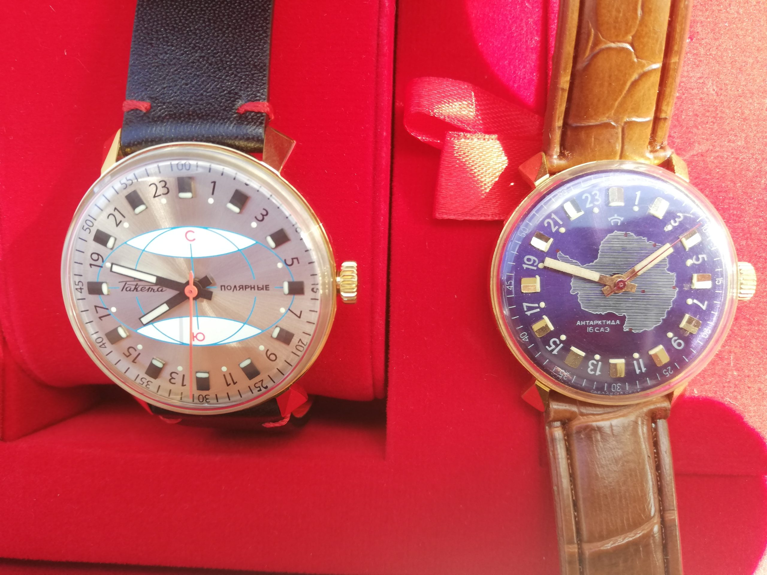 Raketa Polar watches
