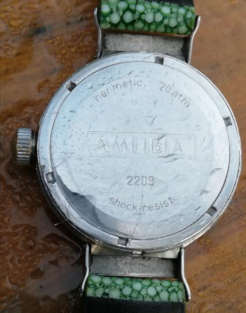 Early Vostok Amphibian caseback