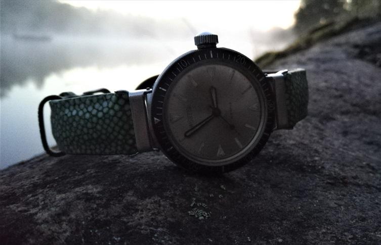 Vostok Amphibian, type 350. Wristwatch