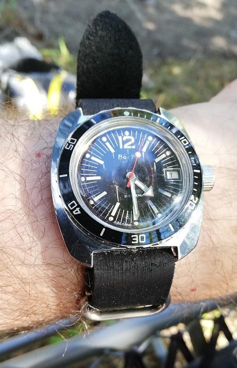 Vostok Amphibian case 710 with Compressor dial