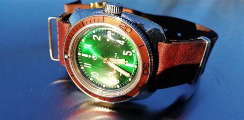 Vostok Amphibian automatic 2416b Ministry case