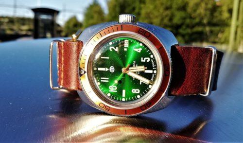 Russian wristwatch