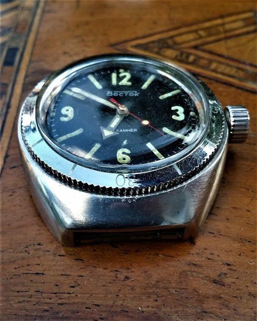 Reshaped Vostok Amphibian barrel