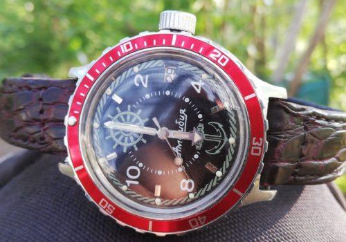 Vostok Amphibian Zissou