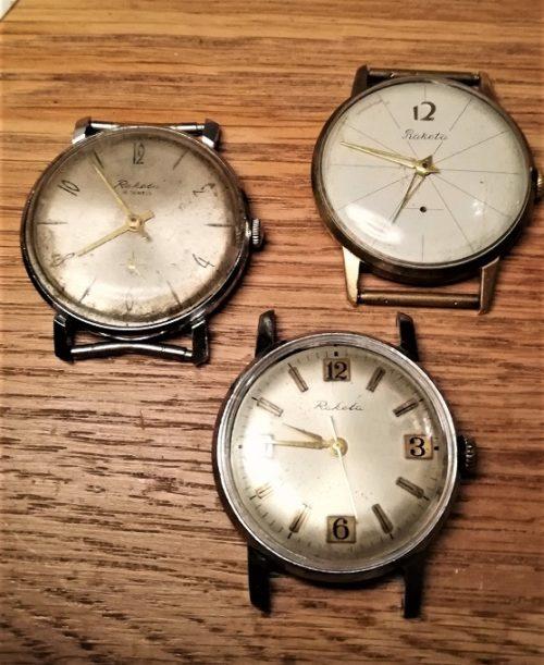 Raketa wristwatch